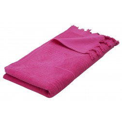 Eshma Mardini Luxury Turkish Cotton Towel - Fuchsia