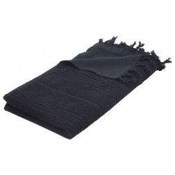 Eshma Mardini Luxury Turkish Cotton Towel - Black