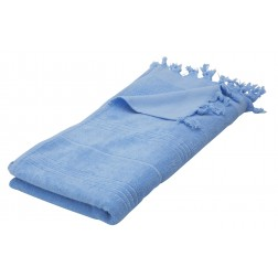 Eshma Mardini Luxury Turkish Cotton Towel - Light Blue