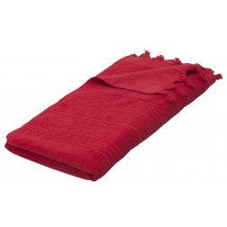 Eshma Mardini Luxury Turkish Cotton Towel - Red