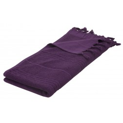 Eshma Mardini Luxury Turkish Cotton Towel - Eggplant