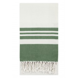 Eshma Mardini Peshtemal Turkish Bamboo Towel Beach Pool Cover Up  Picnic Bath Spa Sauna - ( Green )