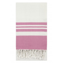 Eshma Mardini Peshtemal Turkish Bamboo Towel Beach Pool Cover Up  Picnic Bath Spa Sauna - ( Pink )