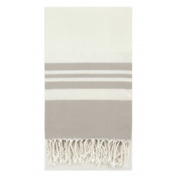 Eshma Mardini Peshtemal Turkish Bamboo Towel Beach Pool Cover Up  Picnic Bath Spa Sauna - ( Beige )
