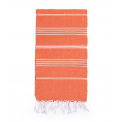 Peshtemal Turkish Towel Beach Cover-Up - Orange