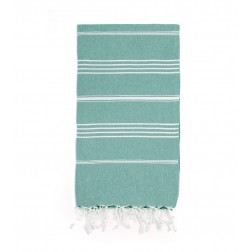 Peshtemal Turkish Towel Beach Cover-Up - Mint Green