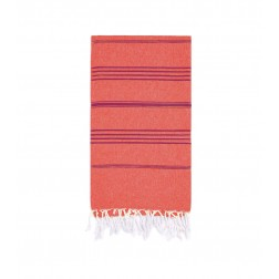 Peshtemal Turkish Towel Beach Cover-Up - Peach - Rose