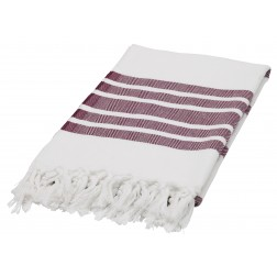 Eshma Mardini Luxury Turkish Cotton Peshtemal for Beach, Bath, Pool...etc. - Burgundy