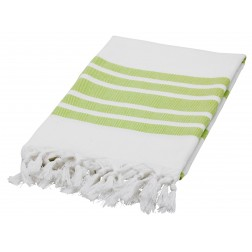 Eshma Mardini Luxury Turkish Cotton Peshtemal for Beach, Bath, Pool...etc. - Green
