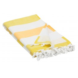 Peshtemal Turkish Towel Beach Cover-Up - Yellow