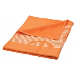 Eshma Mardini Turkish Cotton Anchor Design Beach Towel - Orange