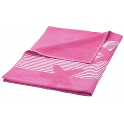 Eshma Mardini Turkish Cotton Starfish Design Beach Towel - Fuchsia